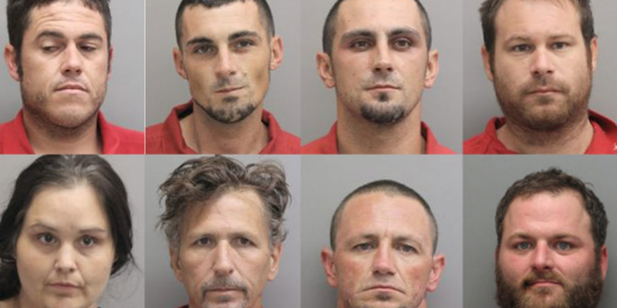 Lafourche Parish deputies arrest 8 in heroin ring bust, more arrests expected