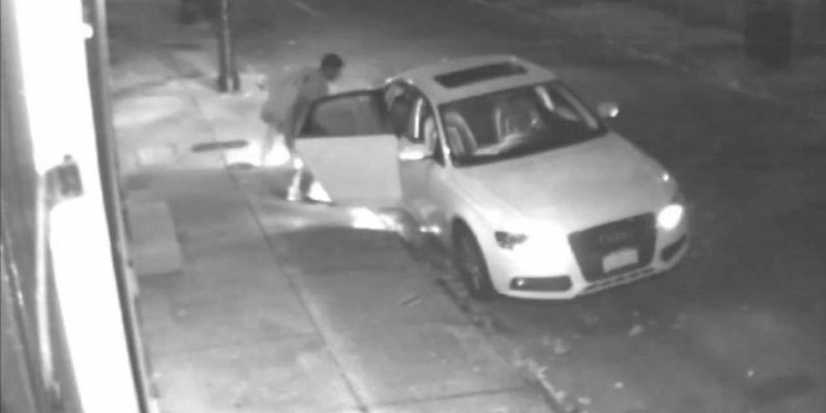 French Quarter car burglar caught on camera