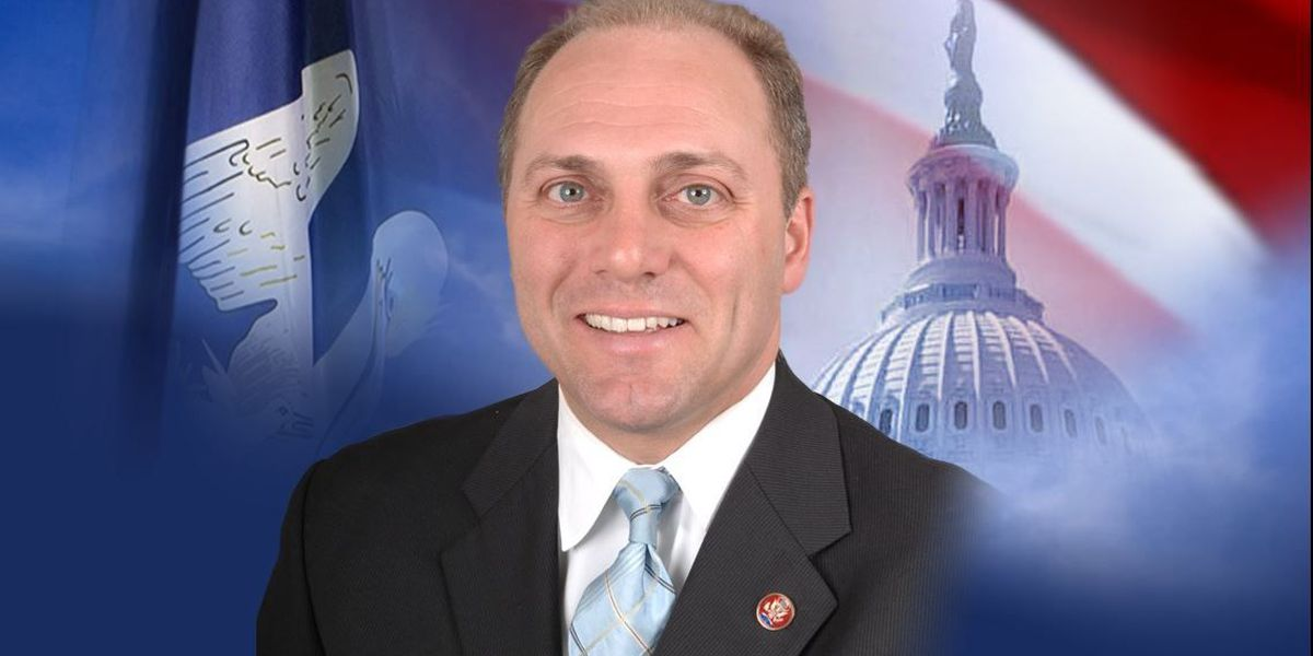 Scalise hits campaign trail days after surgery