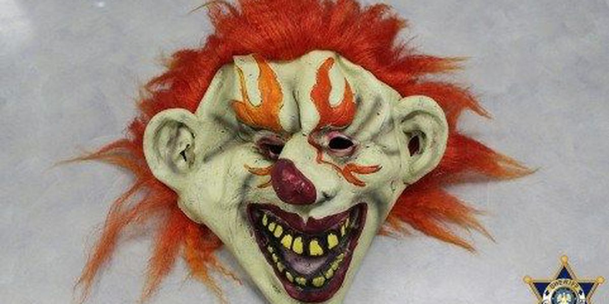 2 teenagers charged with wearing clown mask, face up to 3 years in jail