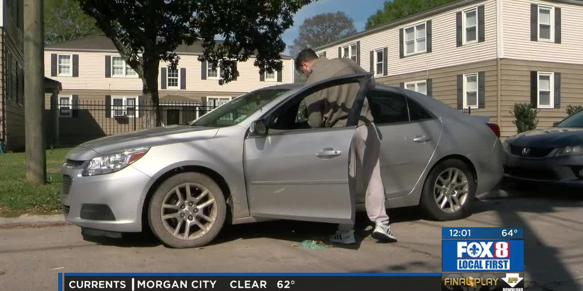 Metairie Rd. the latest victims of vehicle smash and grabs