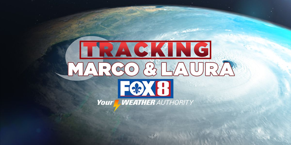 Latest Track: Tropical Update: Marco and Laura