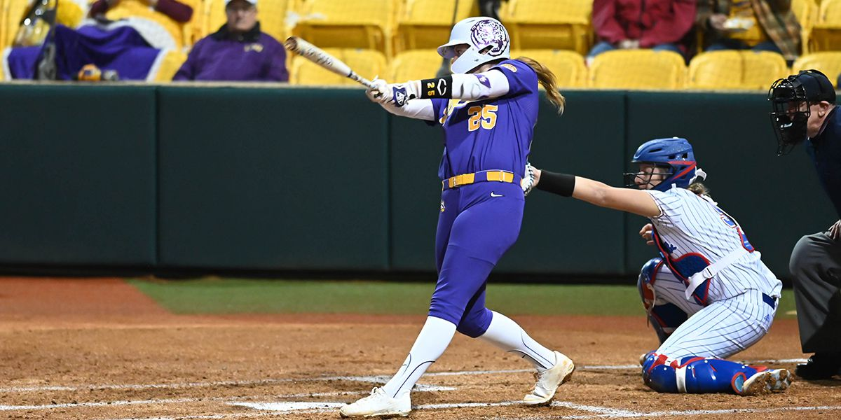 No. 6 LSU blasts its way to a run-rule win over LA Tech