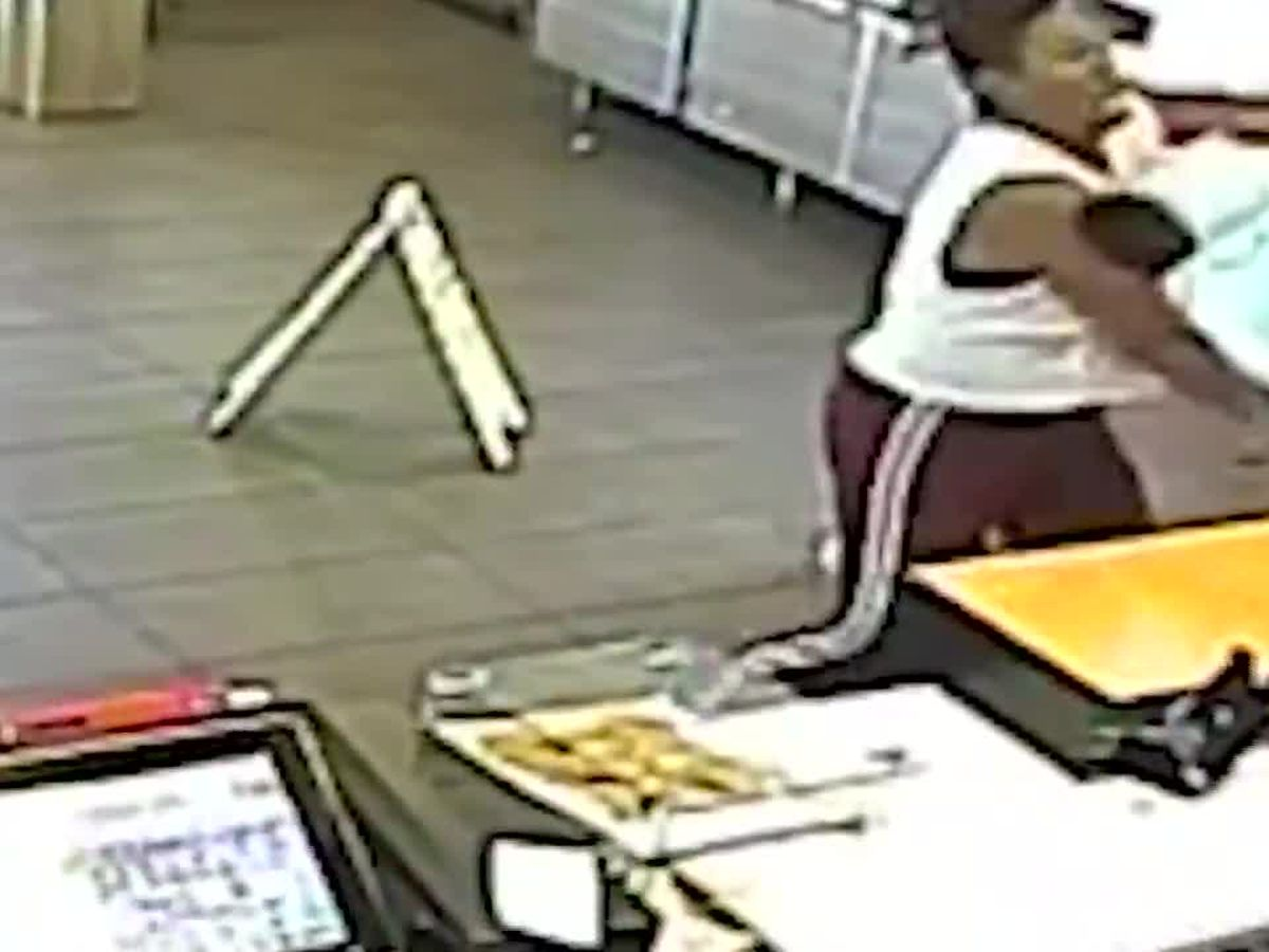GRAPHIC: Video shows McDonald's customer hit in the face with a blender