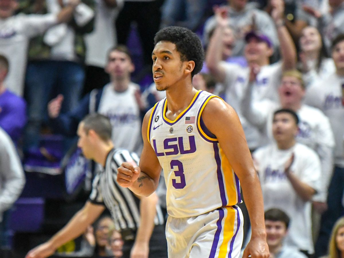 Guard Tremont Waters is the Tigers coach on the court