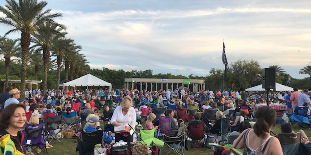 LPO performs at Swing in the Oaks in City Park