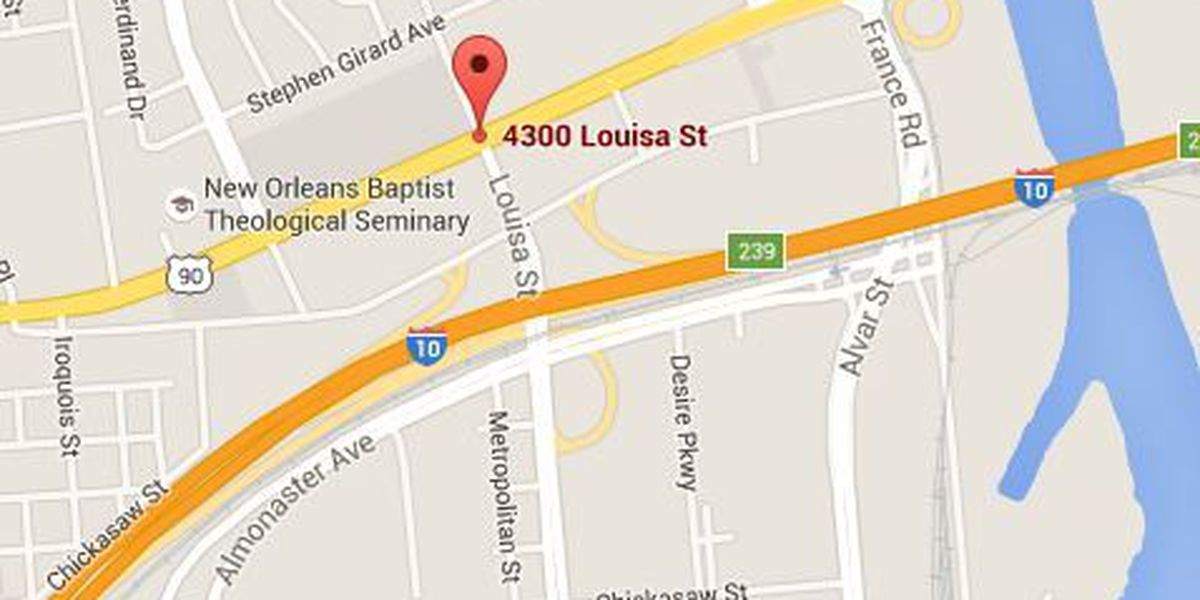 NOPD investigating a Louisa Street shooting