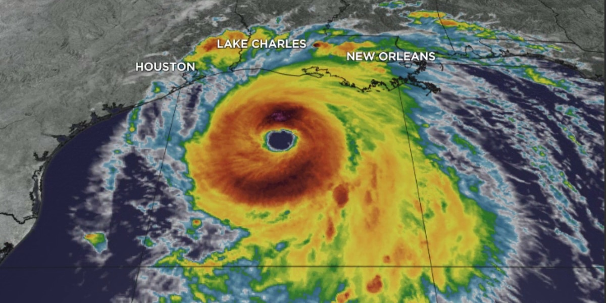 Flooding Begins in Coastal Louisiana as Category 4 Hurricane Laura Approaches