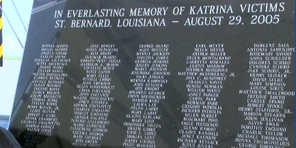 St. Bernard Parish remembers 164 lives lost during Hurricane Katrina