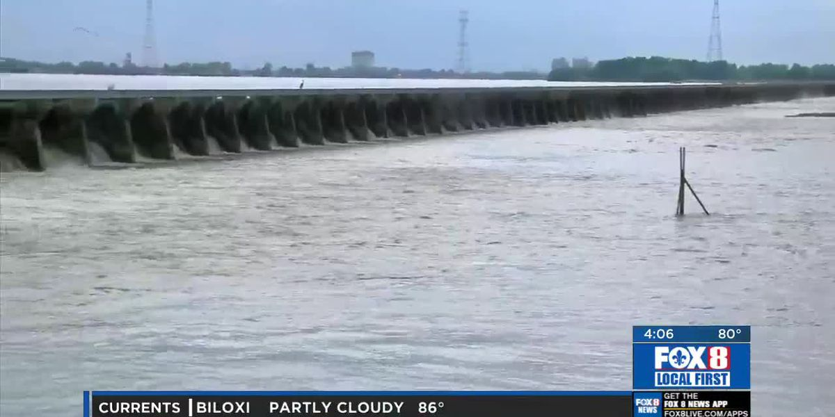 Work To Close Bonnet Carre Spillway Begins