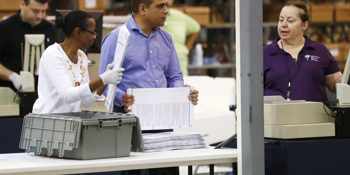 Bitter Florida recount: Lawsuits pile up, machines overheat
