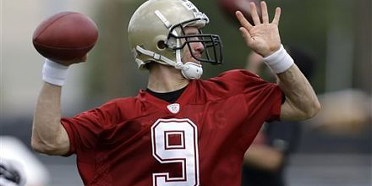 Drew Brees cautiously optimistic after second week of Organized Team Activities
