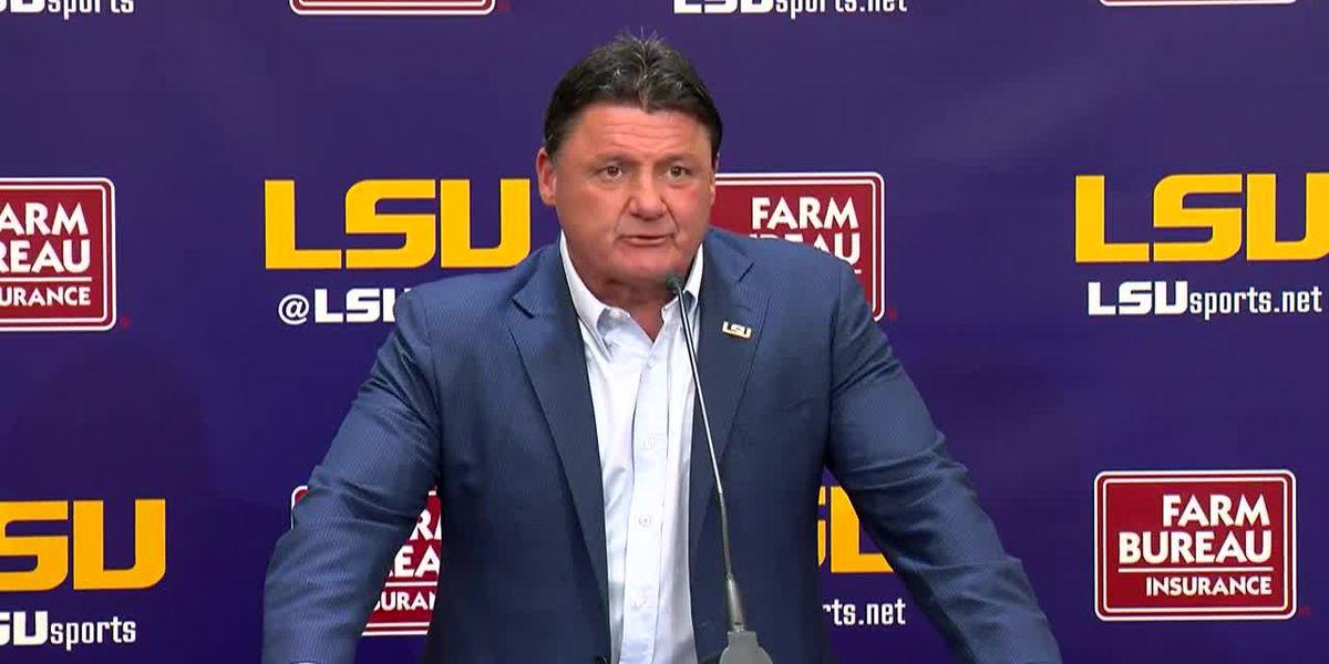LSU football announces SEC Media Days attendees