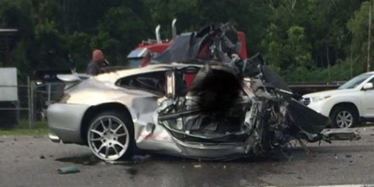 Police identify 3 men killed in fiery high-speed crash in Waggaman