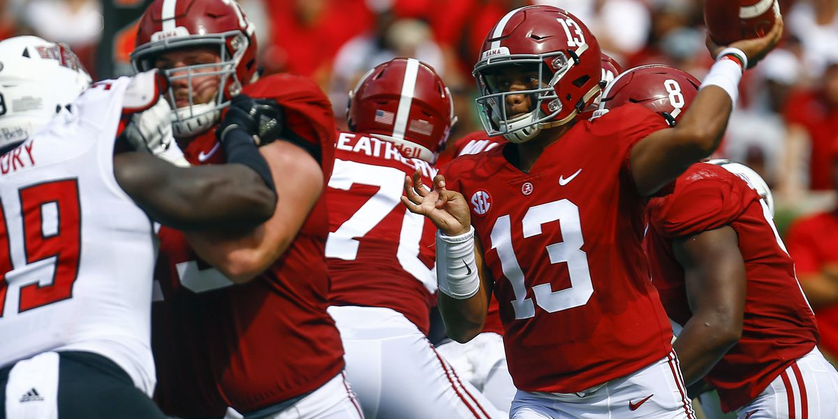 Alabama is No. 1 at being No. 1 in AP rankings