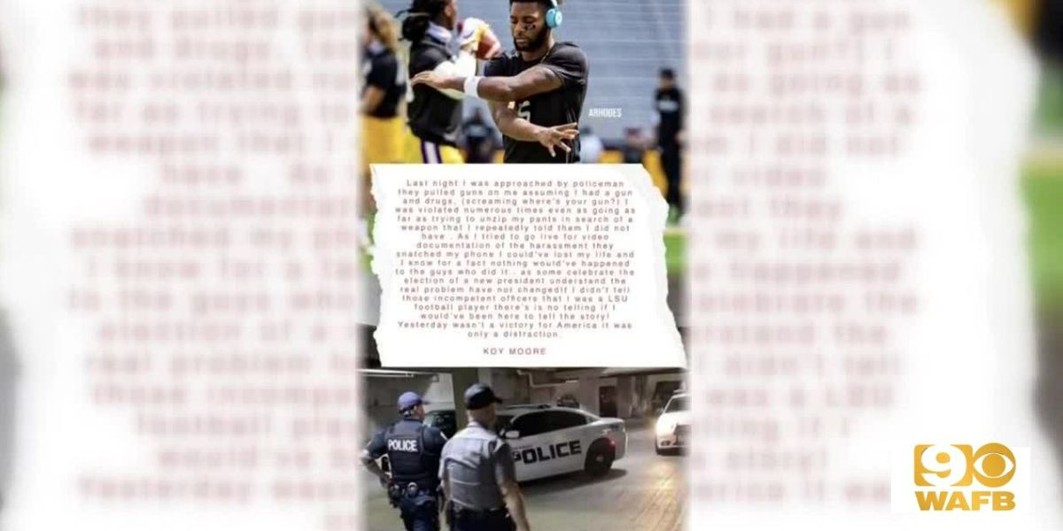 THE INVESTIGATORS: BRPD releases video of incident involving Koy Moore, 3 officers