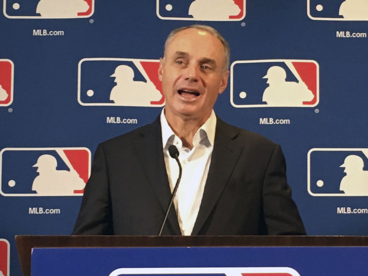 Baseball owners extend Manfred's contract, TV deal with Fox