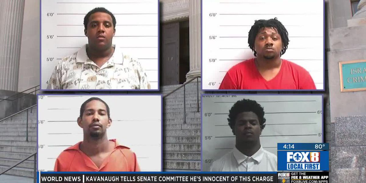 4 men plead guilty to attempted armed robbery of Lakeview Harbor restaurant