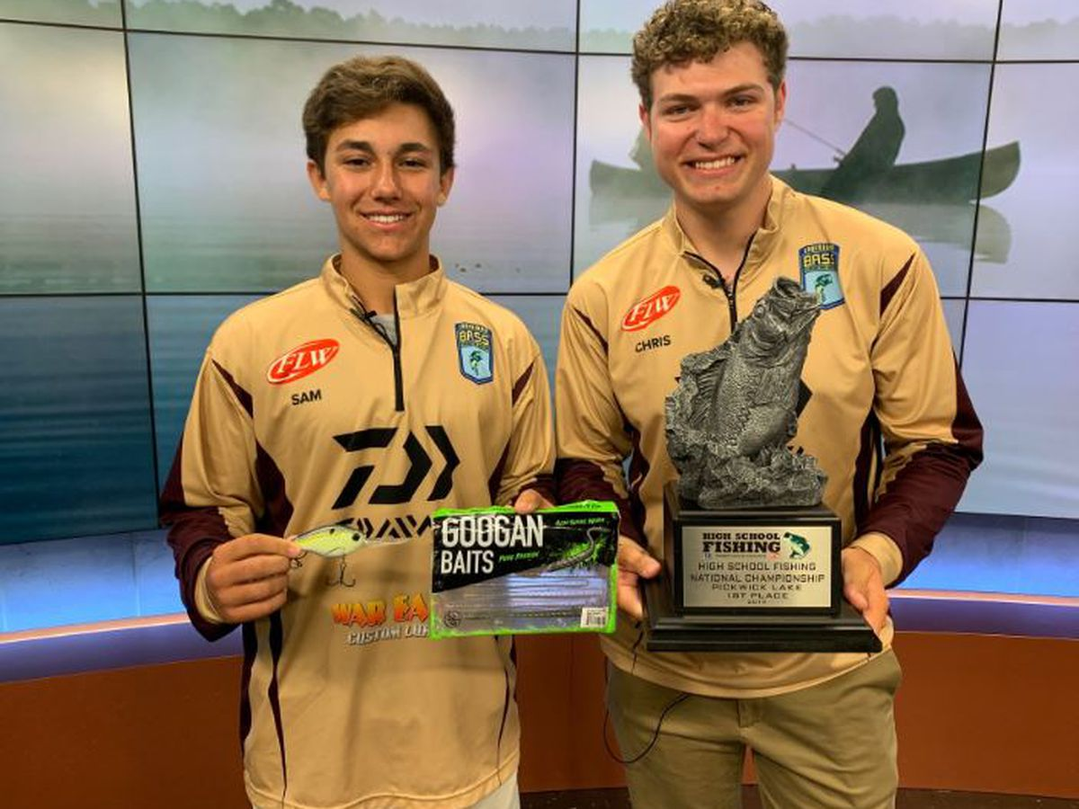 North Shore teen anglers win National High School fishing tournament