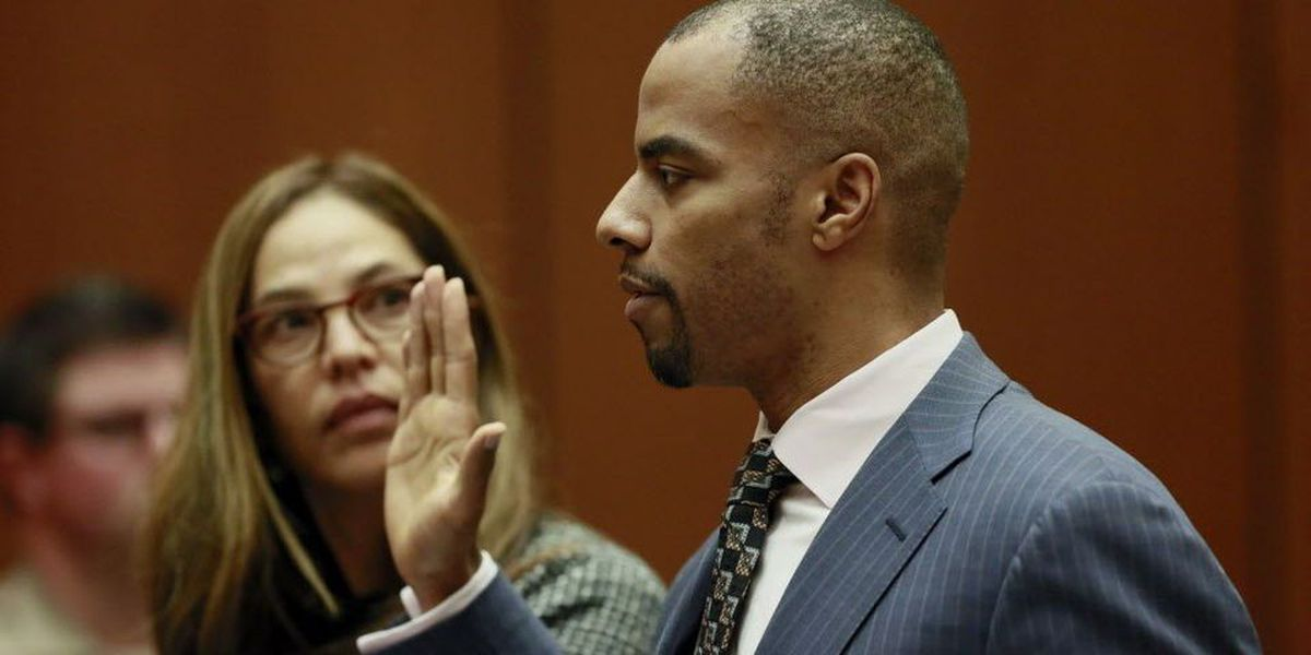 Darren Sharper to be arraigned on state rape charges Tuesday