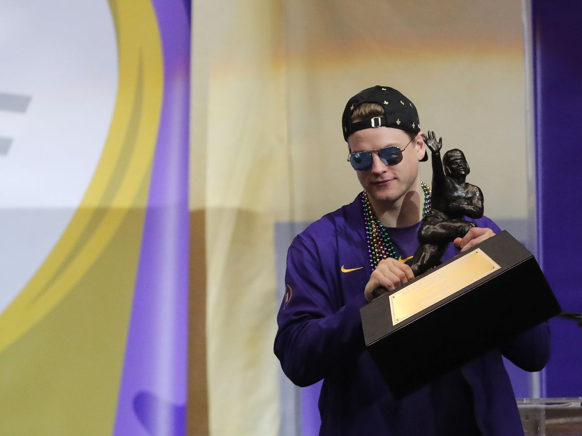 Joe Burrow named SEC Male Athlete of the Year