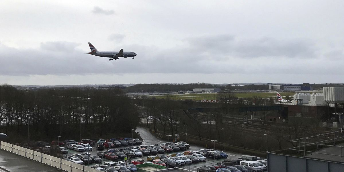 London airport open, but location of drone culprit up in air