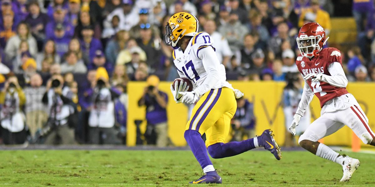 2021 NFL Draft: LSU WR Racey McMath taken No. 205 overall in the 6th round by Tennessee Titans