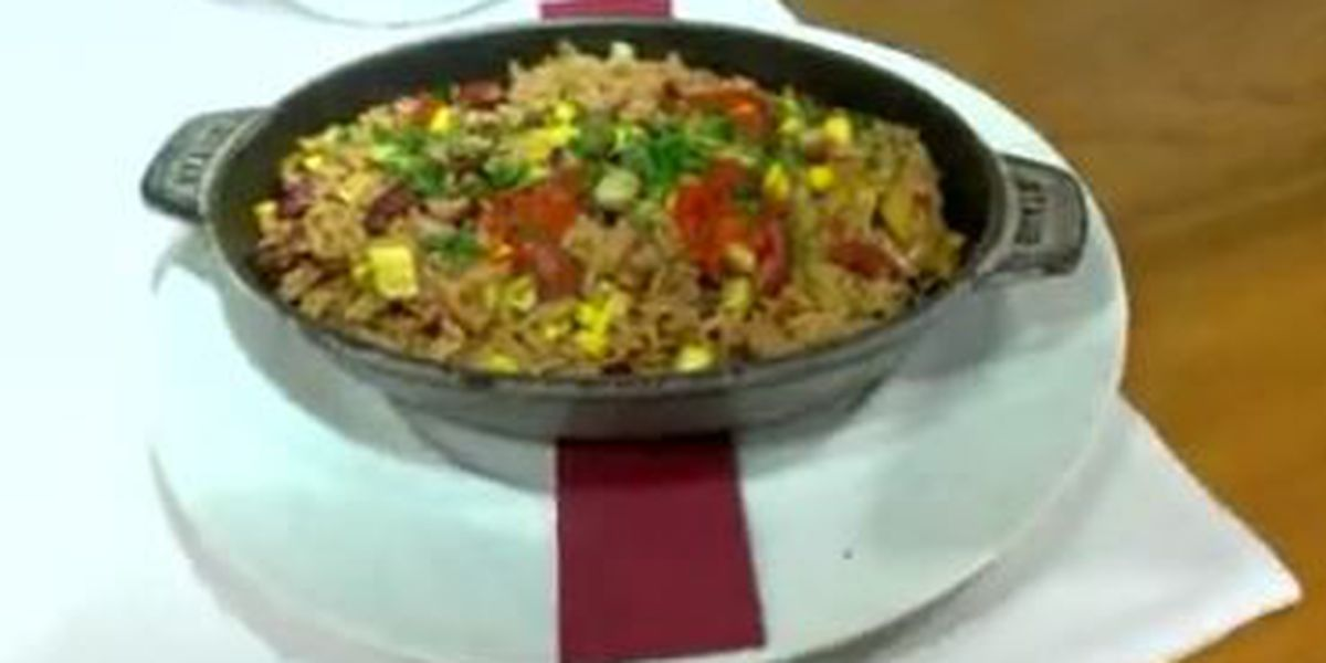 Chef John Folse: Vegetable jambalaya