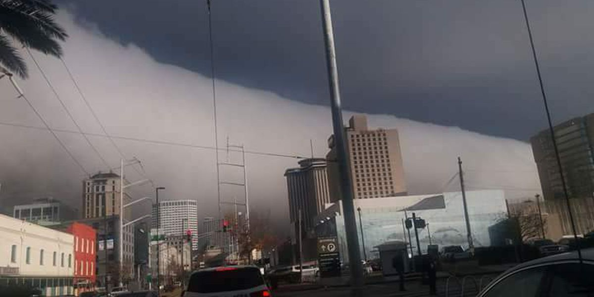 Cloud 'rolls' through New Orleans area