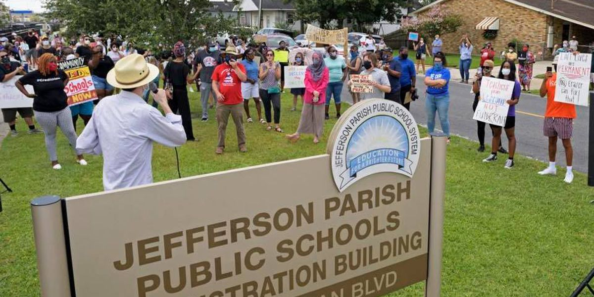 TODAY: Protest planned at Jefferson Parish School Board Office