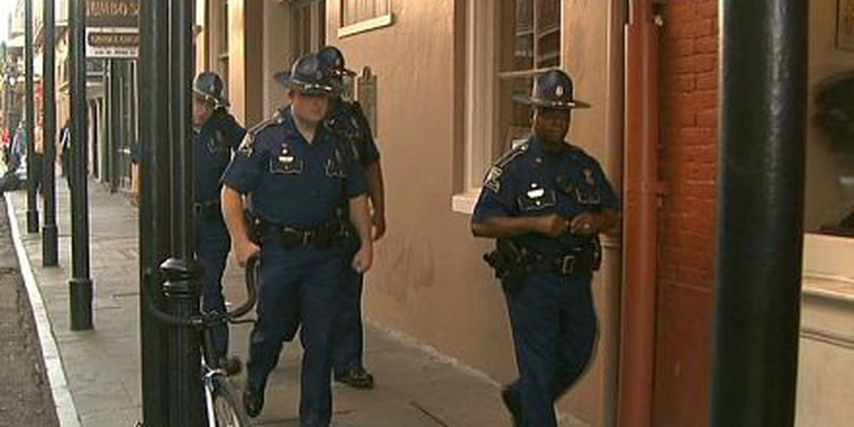 State Police end extra patrols in French Quarter