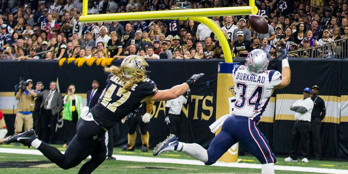 Brady torches Saints defense with 447 yards passing and 3 TD's
