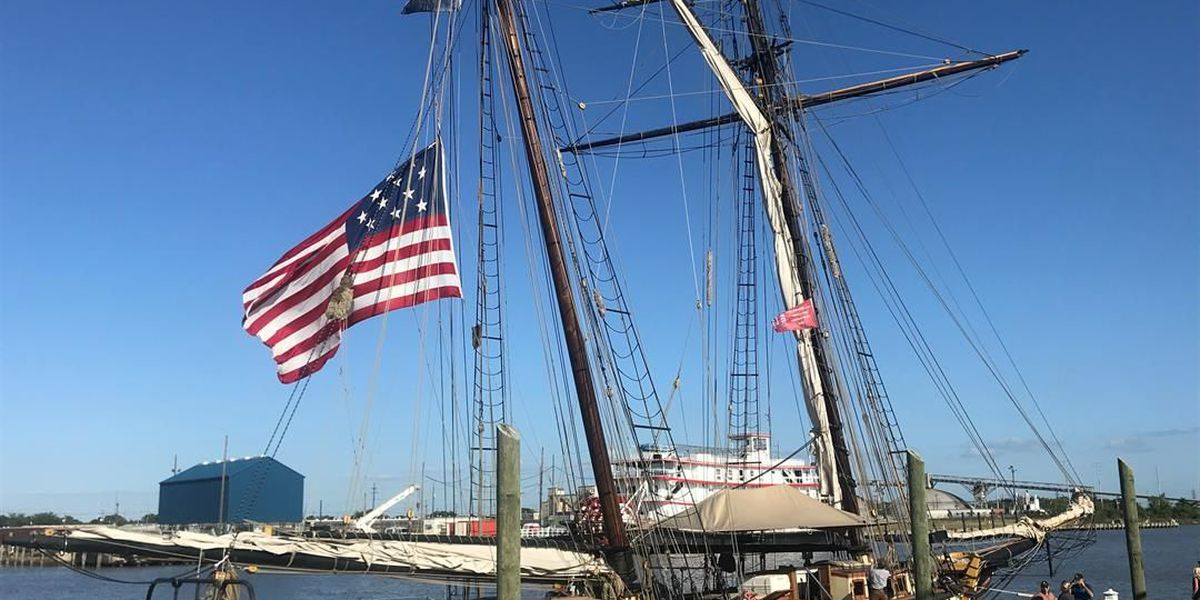 Tall ships arrive to celebrate city's Tricentennial