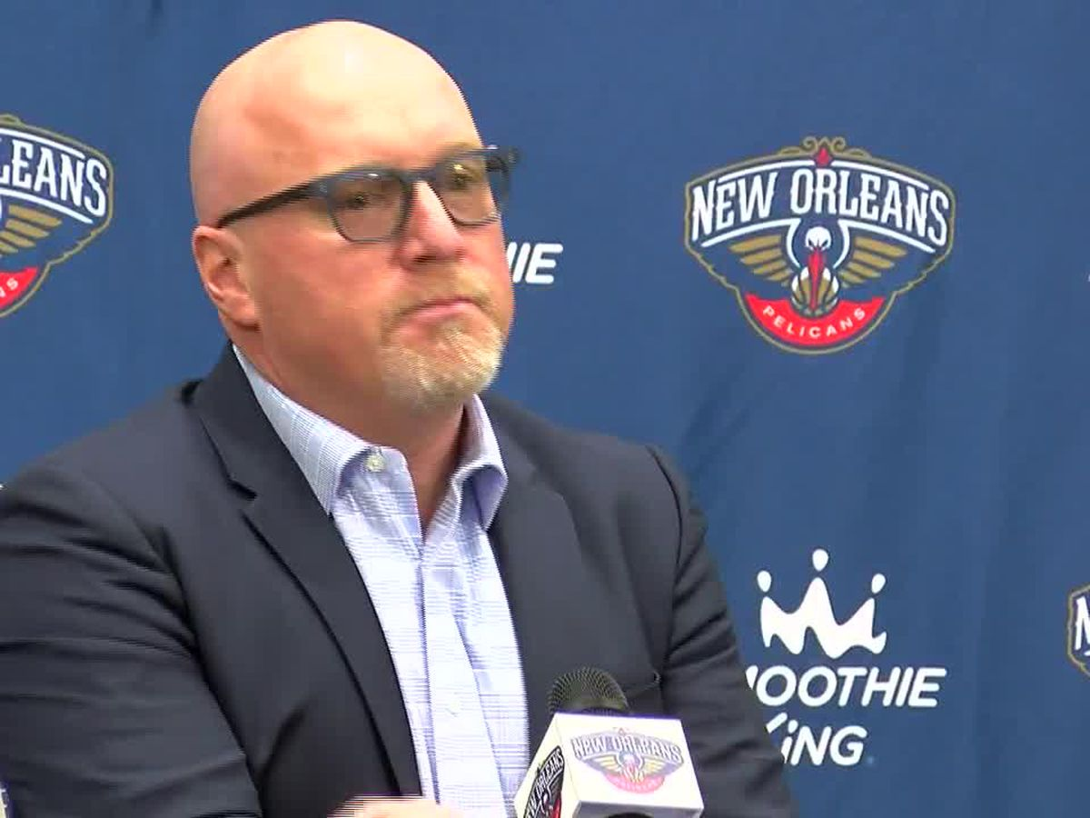 New Orleans Pelicans VP David Griffin fined $50,000 for comments 'detrimental to the NBA,' league says