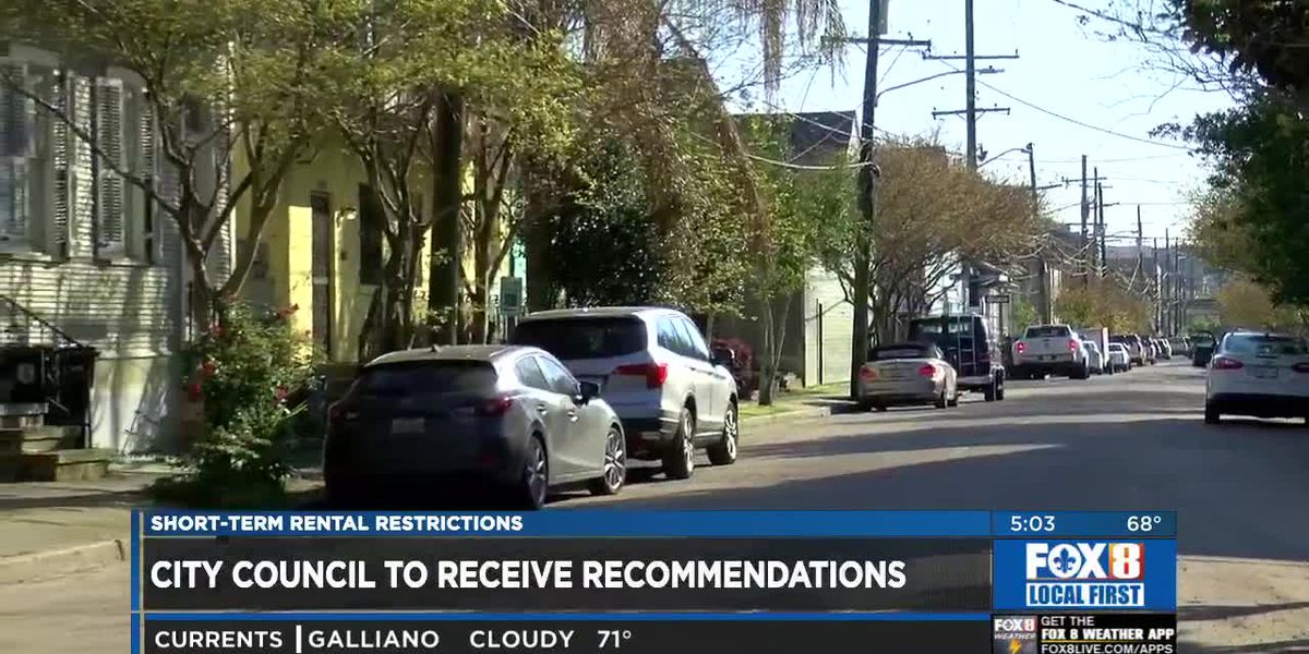 Council reviewing Planning Commission's study on short-term rentals