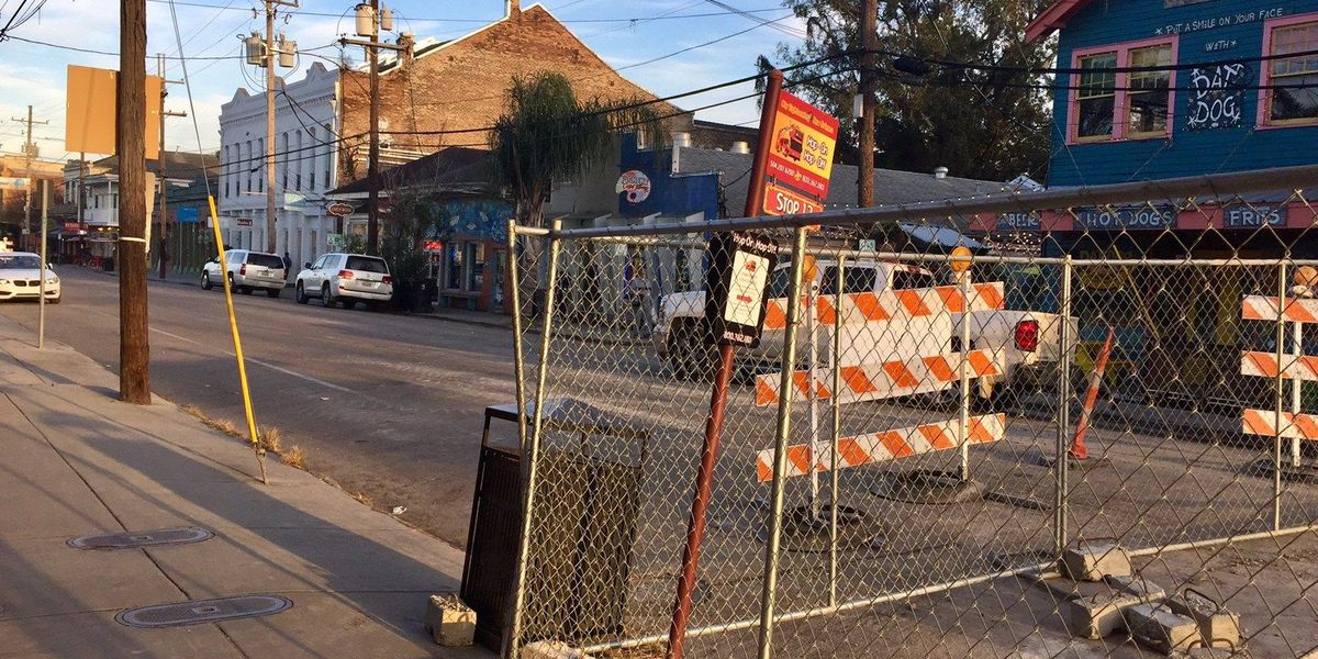 Magazine Street construction catches business owners by surprise