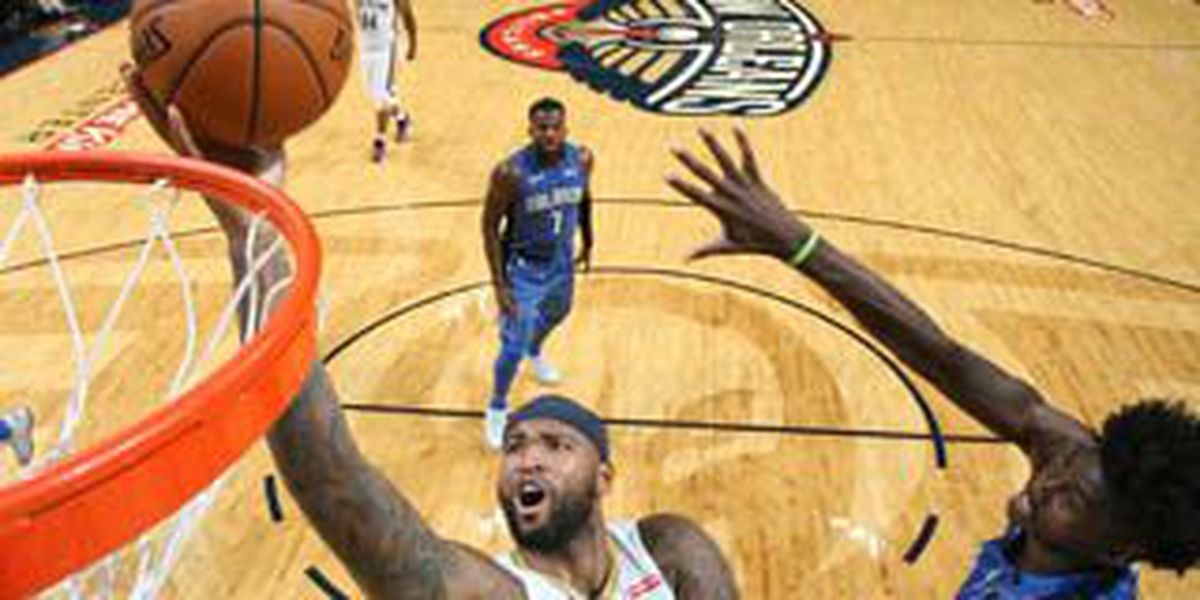 DeMarcus Cousins puts up historic numbers in Pelicans' double overtime win