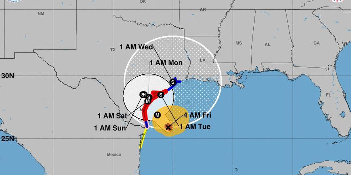 Hurricane Harvey expected to bring 'catastrophic flooding' to Texas