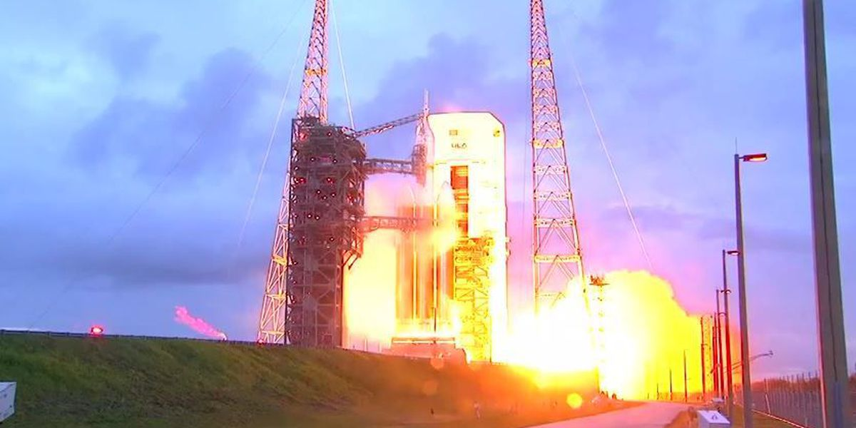 Watch: NASA's Orion launches into orbit