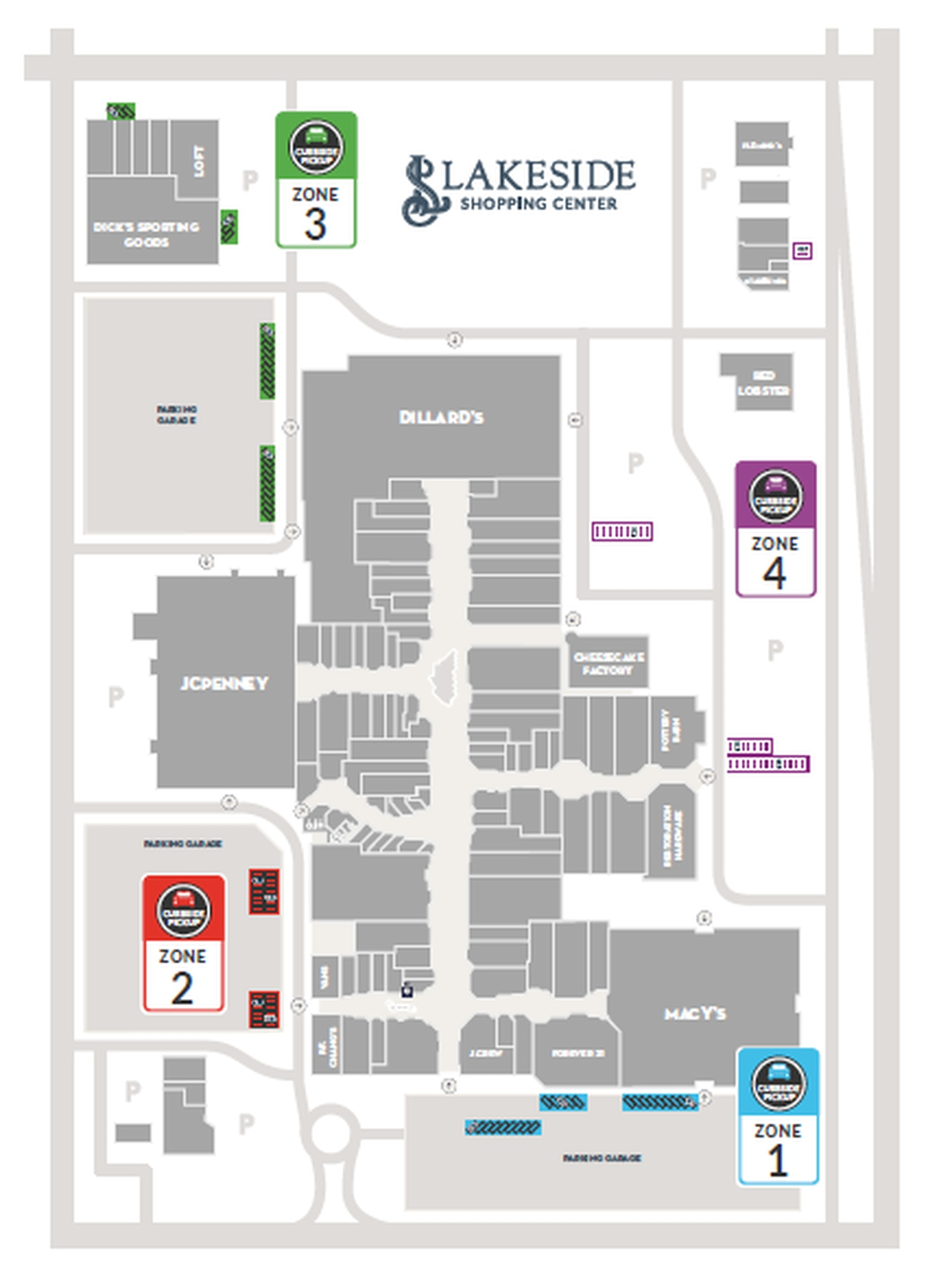 lakeside mall new orleans map Lakeside Mall Announces Curbside Pickup Reopening Date lakeside mall new orleans map