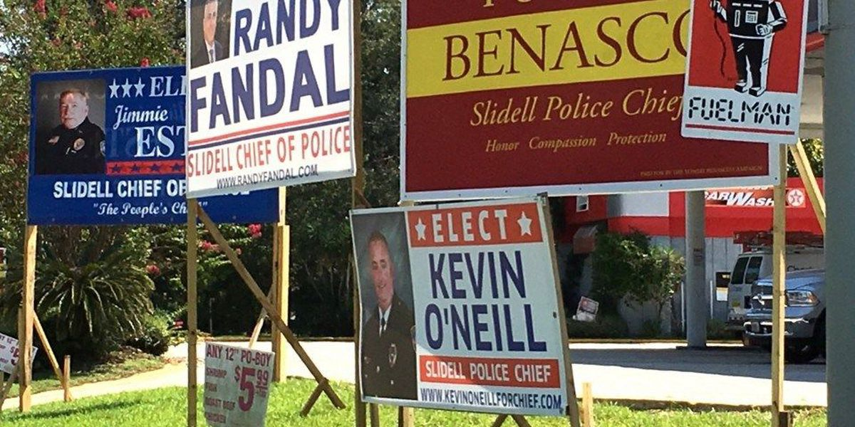 Race for Slidell police chief headed for runoff