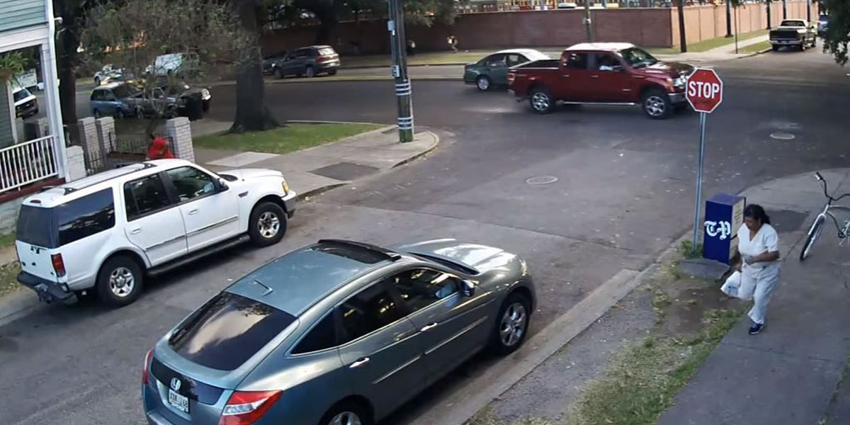 Video: Mid-City drive-by shooting caught on camera