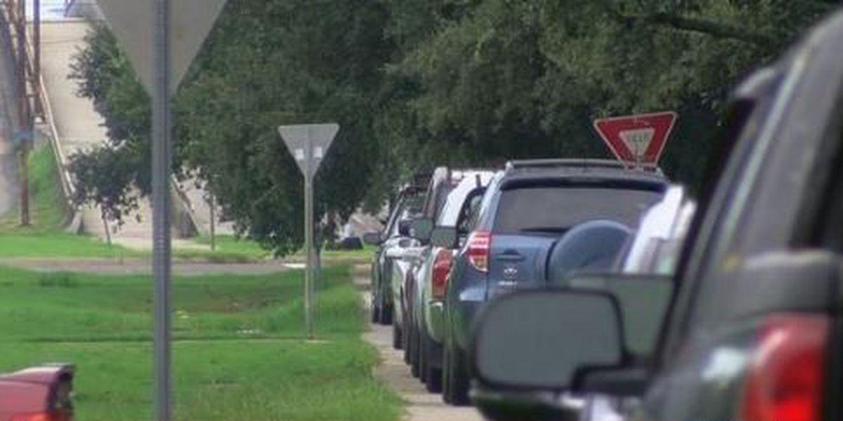 Weather Threat: Neutral ground parking in New Orleans