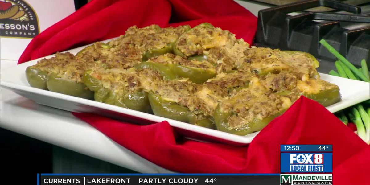 Vaucresson Sausage Company and stuffed bell peppers