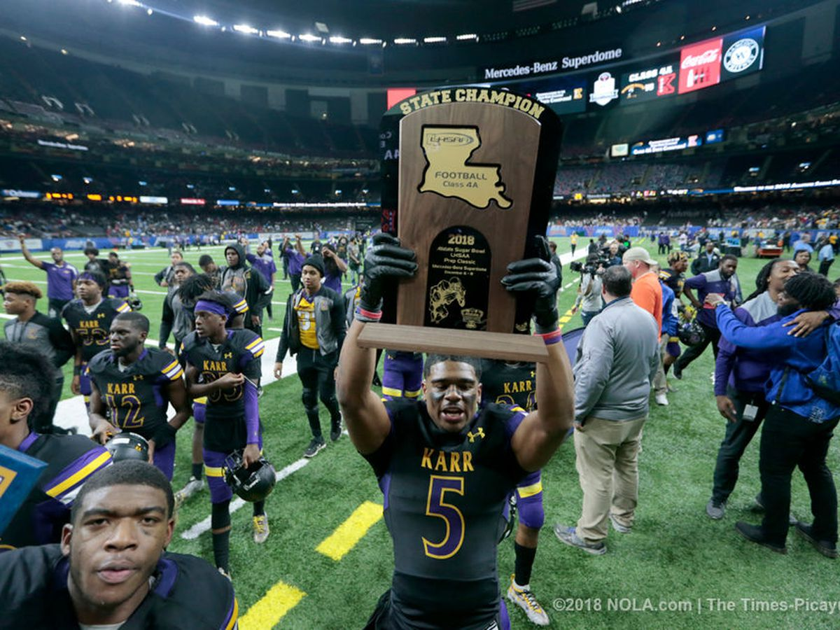 Karr beats Easton for a 3-peat in the Dome