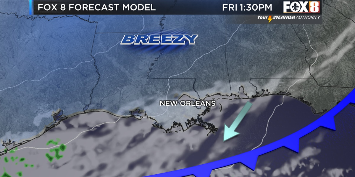 Zack: Big warm up today ahead of a strong cold front