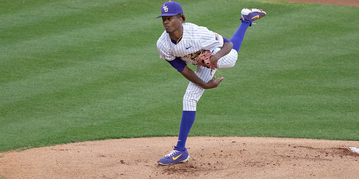 No. 9 LSU baseball holds South Alabama scoreless for back-to-back shutout wins