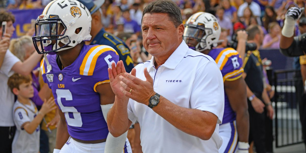 Orgeron cautions LSU fans to not be overconfident for Florida game