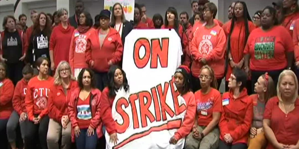 Chicago teachers strike starts Thursday