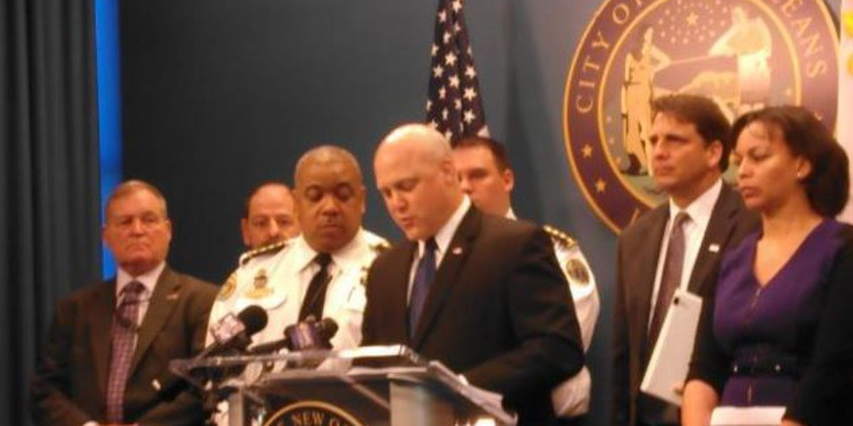 Landrieu unveils proposed 2015 budget; calls for police pay raise
